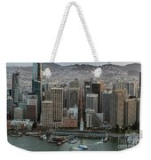 Port Of San Francisco And Downtown Financial District Weekender Tote Bag