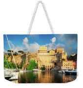 Port Of Sorrento, Southern Italy Weekender Tote Bag