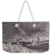 Port Of Tacoma Wa Waterfront Weekender Tote Bag