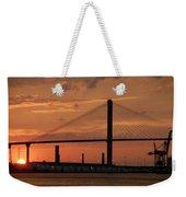 Port Savannah Sunset Weekender Tote Bag