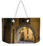 Portal De Valldigna In El Carmen Weekender Tote Bag
