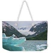 Porter Glacier Alaska  Weekender Tote Bag