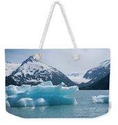 Porter Glacier Alaska II Weekender Tote Bag