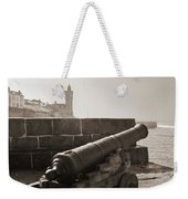 Porthleven Cannon Sepia Weekender Tote Bag