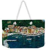 Portifino Italy Weekender Tote Bag
