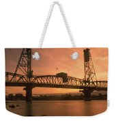 Portland Bridge Weekender Tote Bag