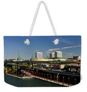 Portland East Bank Weekender Tote Bag