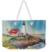 Portland Head Light Weekender Tote Bag