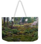 Portland Japanese Garden By The Lake Weekender Tote Bag