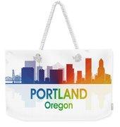 Portland Or Weekender Tote Bag
