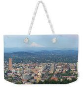 Portland Oregon Cityscape Daytime Panorama Weekender Tote Bag