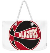 Portland Trail Blazers Retro Shirt Weekender Tote Bag