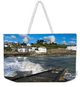 Portmellon In Winter Weekender Tote Bag