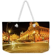 Porto City By Night Weekender Tote Bag