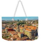 Porto Skyline Portugal Weekender Tote Bag