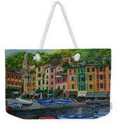 Portofino Harbor Weekender Tote Bag