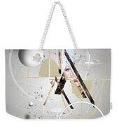 Portrait Abstract Weekender Tote Bag