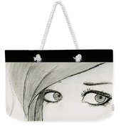 Portrait By Neha Weekender Tote Bag