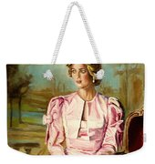 Portrait Commissions By Portrait Artist Carole Spandau Weekender Tote Bag