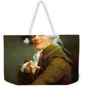Portrait De L Artiste Sous Les Traits D Un Moqueur 1793 Weekender Tote Bag