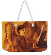 Portrait Group Of The Artists Family Weekender Tote Bag