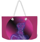 Portrait In Berry 1 Weekender Tote Bag