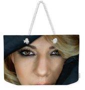 Portrait Of A Beautiful Woman Weekender Tote Bag