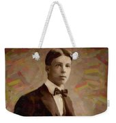 Portrait Of A Boy 16 Weekender Tote Bag