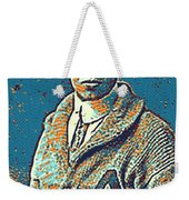 Portrait Of A Boy 24 By Adam Asar -  Asar Studios Weekender Tote Bag