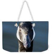Portrait Of A Canada Goose Weekender Tote Bag