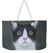 Portrait Of A Cat Weekender Tote Bag
