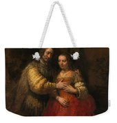 Portrait Of A Couple As Figures From The Old Testament Weekender Tote Bag