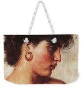 Portrait Of A Dark-haired Beauty Konstantin Makovsky Weekender Tote Bag