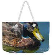 Portrait Of A Duck Weekender Tote Bag
