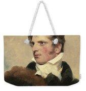 Portrait Of A Gentleman, Sir Thomas Lawrence Weekender Tote Bag