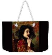 Portrait Of A Georgian Princess Weekender Tote Bag