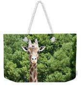 Portrait Of A Giraffe Weekender Tote Bag