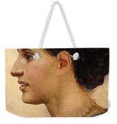 Portrait Of A Girl Henryk Semiradsky Weekender Tote Bag