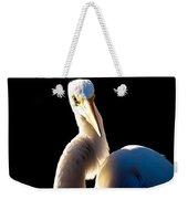 Portrait Of A Great Egret  Weekender Tote Bag