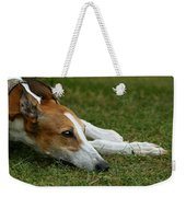 Portrait Of A Greyhound - Soulful Weekender Tote Bag