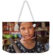 Portrait Of A Khmer Girl - Cambodia Weekender Tote Bag