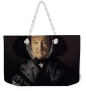 Portrait Of A Lady, Possibly Mrs. Pigott Of Chetwynd Weekender Tote Bag