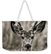 Portrait Of A Male Deer II Weekender Tote Bag