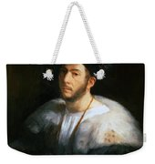 Portrait Of A Man Probably Cesare Borgia 1520 Weekender Tote Bag