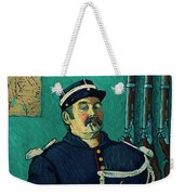 Portrait Of A One-eyed Man Weekender Tote Bag