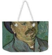 Portrait Of A One Eyed Man Saint Remy De Provence  Autumn 1889 Vincent Van Gogh 1853  1890 Weekender Tote Bag