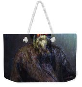 Portrait Of A Peasant 1889 Ilya Repin Weekender Tote Bag
