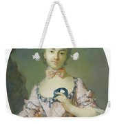 Portrait Of A Pensionnaire Of The King Weekender Tote Bag