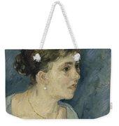 Portrait Of A Prostitute Antwerp December 1885 Vincent Van Gogh 1853  1890 Weekender Tote Bag
