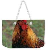 Portrait Of A Rooster Weekender Tote Bag